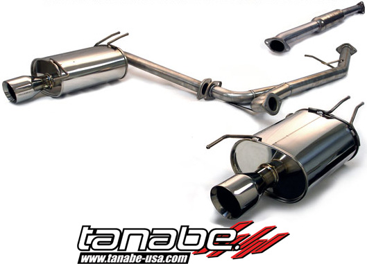 OFFICIAL Tanabe Medalion Touring Exhaust 20032006 Acura TSX