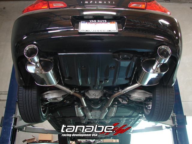 NEW!! Tanabe Medalion Touring axel-back for g35 ...