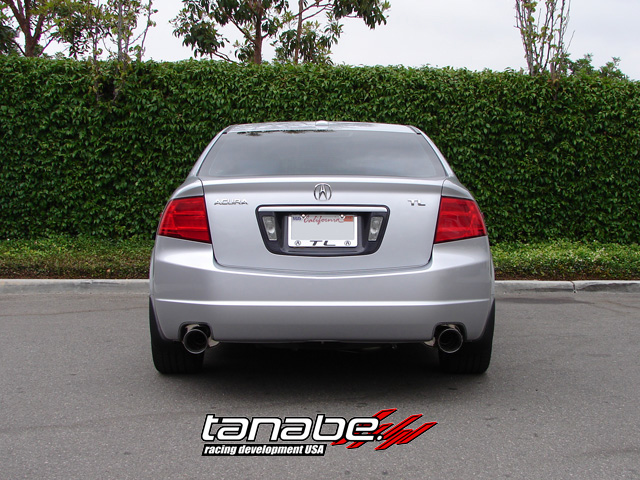 Tanabe Medallion Touring Exhaust Groupbuy Acura TL - Acura tl exhaust