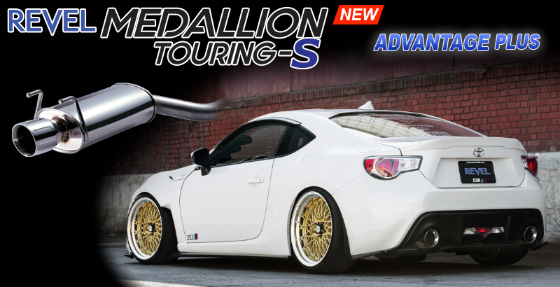 Revel Medallion Touring-S Exhaust Systems