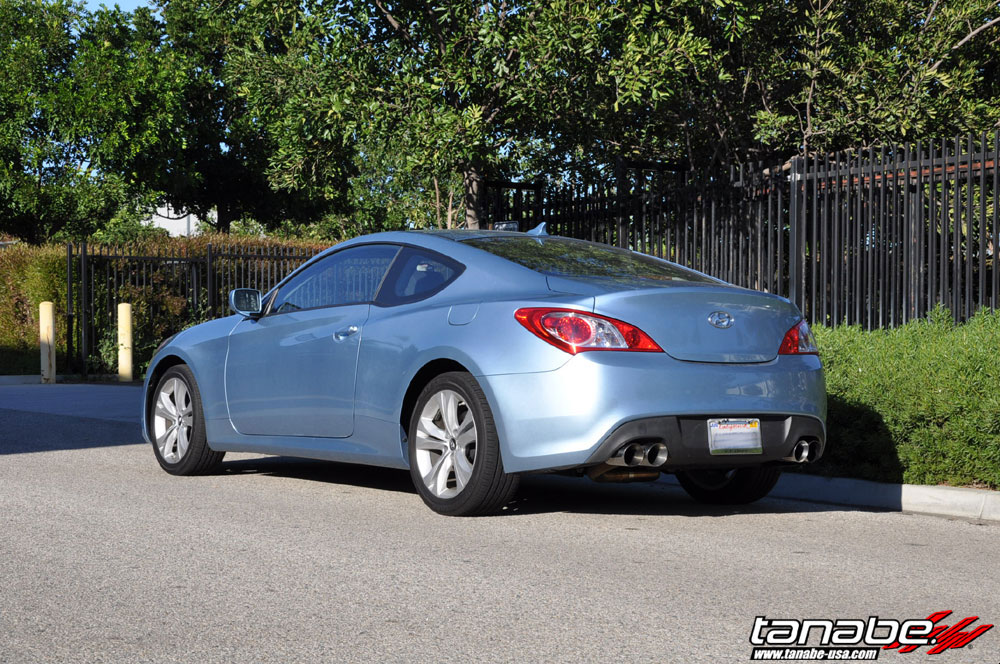 Tanabe Usa R Amp D Blog Genesis Coupe 2 0t Stock Height Check
