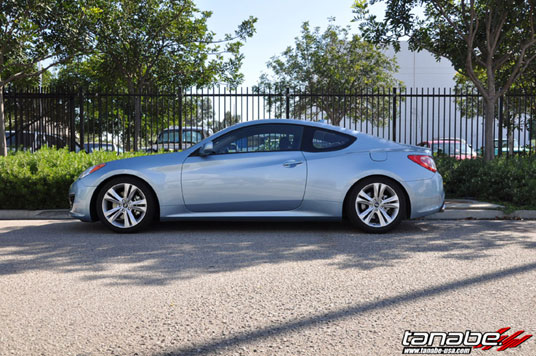 Genesis Coupe 2.0T with DF210 Springs
