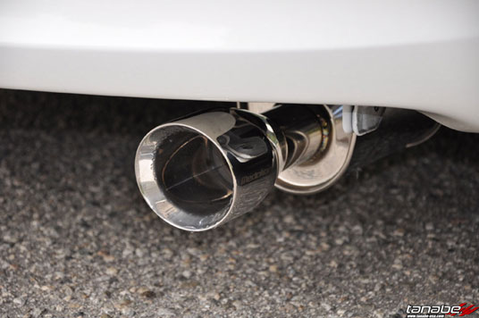 Toyota Yaris 5-Door with the Medalion Touring Exhaust