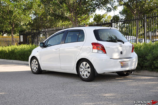 Toyota Yaris 5-Door with Tanabe DF210 Springs