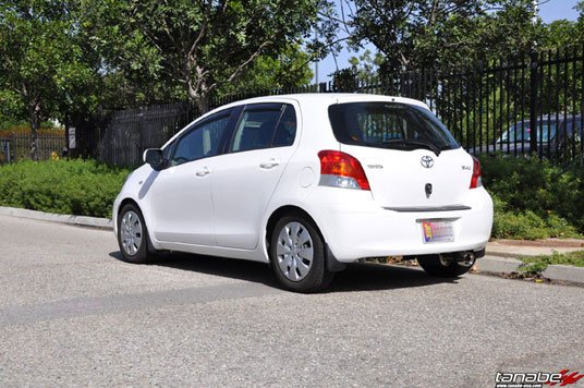 Toyota Yaris 5-Door with Tanabe NF210 Springs