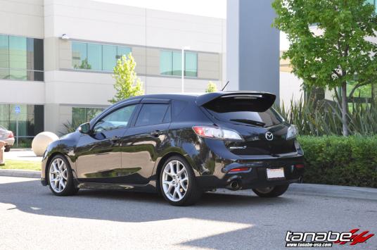 Tanabe Usa R Amp D Blog Mazda 3 Lowered