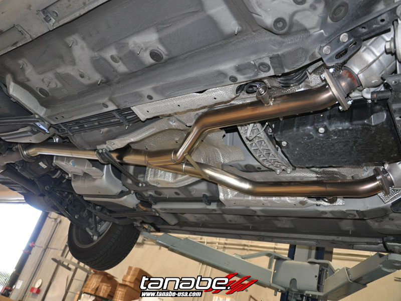 Tanabe Usa R Amp D Blog Is350 With Straight Pipe And Midpipe