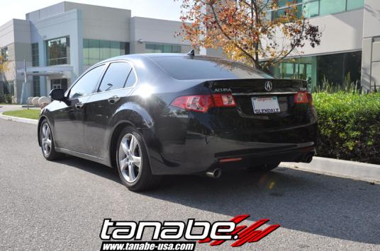 Tanabe USA RD Blog Acura TSX - Acura tsx lowering springs