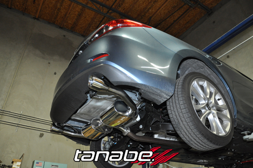 Tanabe Medalion Touring Exhaust On 2017 Mazda 6