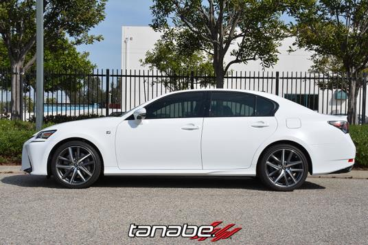 After Tanabe Nf210 Springs Installed On 2016 Lexus Gs350 F Sport